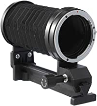 Runshuangyu Extension Tube Macro Lens Bellow for Canon EOS EF Camera 5DIII 70D 700D 1100D DSLR and More, for Digital SLR Photography