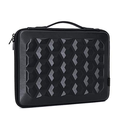Save %50 Now! MCHENG 14 inch Waterproof Shockproof Hard Laptop Sleeve Case Notebook Bag Compatible w...