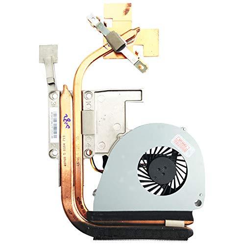 (Version 2) Lüfter Kühler Fan Cooler mit Kühlkörper kompatibel für Acer Aspire 5750G-52454G75Mnk, Aspire 5755G-2678G1TMtks, Aspire 5755G-2638G1TMiks, Aspire 5755G-2454G50Mtrs