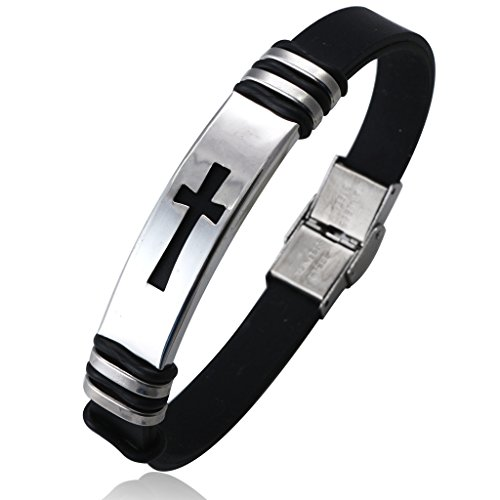 Jstyle Jewelry Men's Stainless Steel...