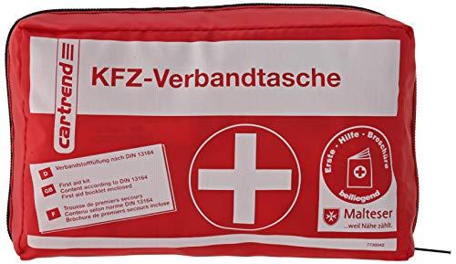 Cartrend 7730042 Verbandtasche, rot