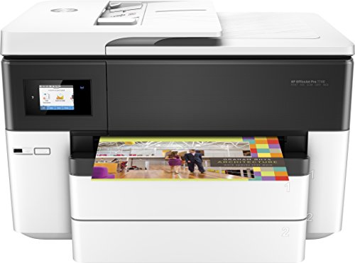 HP OfficeJet Pro 7740 Format All-in-One Colour Inkjet Printer - Black,...