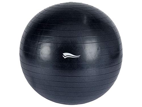 Crivit Soft Gymnastikball Pilates Yoga Fitness Sitzball Dunkelblau Ø 75cm