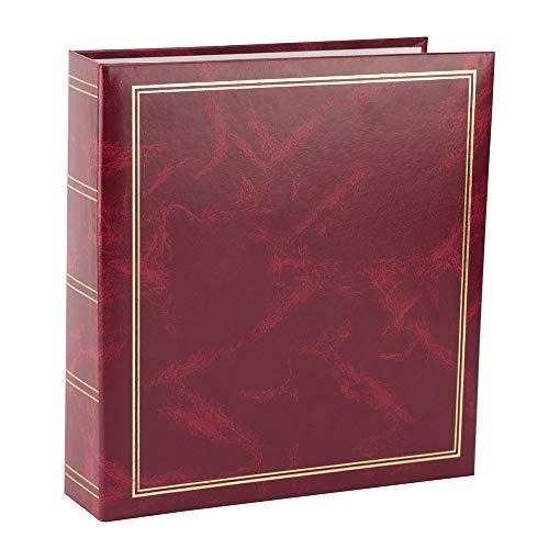 Procart Classic - Álbum de Fotos con 50 Hojas, 100 páginas Autoadhesivas, Formato de Fotos (10 x 15 cm, 13 x 18 cm, 15 x 21 cm)