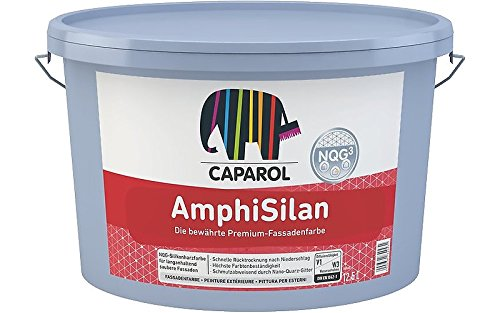 Caparol AmphiSilan Weiss Fassadenfarbe NQG 12,500 L