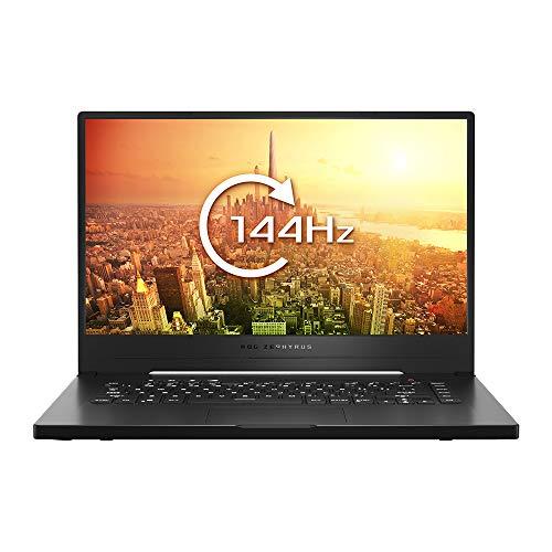 ASUS ROG Zephyrus G GA502IU 15.6 Inch Full HD 144 Hz Gaming Laptop (AMD Ryzen 7 4800H, Nvidia GeForce GTX 1660Ti 6 GB Max-Q Graphics, 1 TB PCI-e SSD, 16 GB RAM, Windows 10), Brushed Black