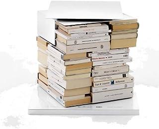 Opinion Ciatti PTOLOMEO x4Short bibliothèque Colonne Standard Blanc laqué