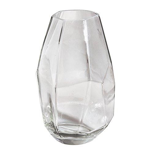 RAYHER HOBBY 56929000Jarrón de Cristal (Cristal, facetado, Transparente, 1.1x 1.1x 1.8cm
