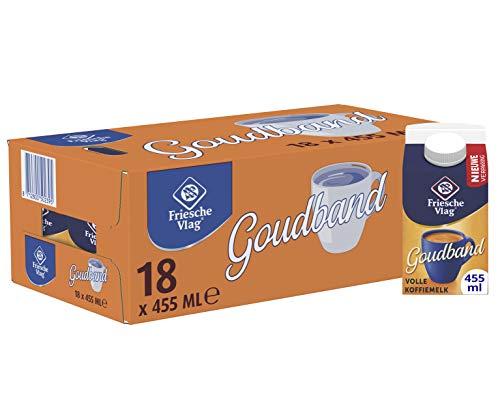Friesche Vlag Koffiemelk Goudband 18 x 455 ml