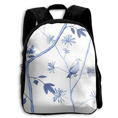 XaMiner Rucksack Jenny Peony Schulrucksäcke für Kinder 13 'Vorschulrucksack mit verstellbaren Schultergurten