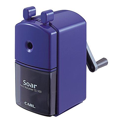 カール事務器 鉛筆削り ソアー ブルー CS-103-B