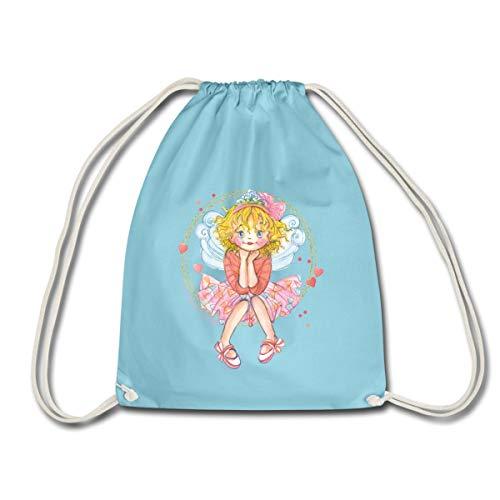 Spreadshirt Prinzessin Lillifee und ihr Wunsch Turnbeutel, Aqua