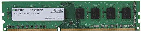 Mushkin Essentials PC3-12800 Arbeitsspeicher 8GB (1600 MHz, 240-polig, 2x 4GB) DDR3-RAM Kit