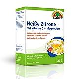SUNLIFE Heiße Zitrone mit Vitamin C + Magnesium: mit natürlichem Vitamin C aus der Acerola-Frucht, 20 Sticks