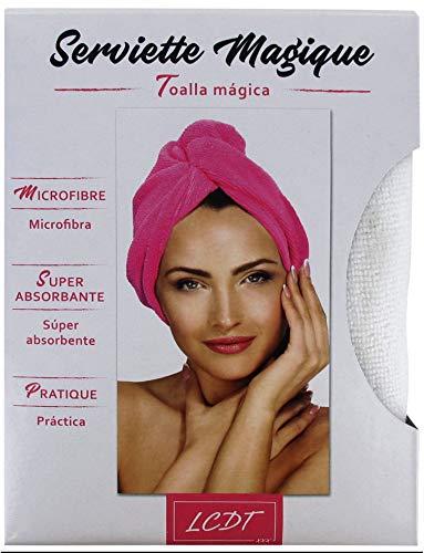Le Comptoir des Tendances - Asciugamano magico, colore: Bianco