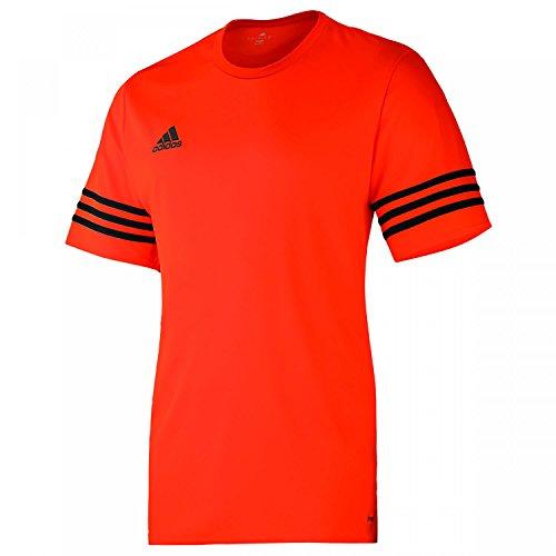 adidas Entrada 14 Jsy, Maglietta Uomo, Arancione/Nero, X-Large