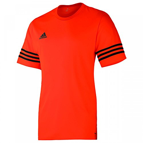 adidas Entrada 14 JSY, Camiseta para hombre, Naranja (Warning/Black), XL, F50488