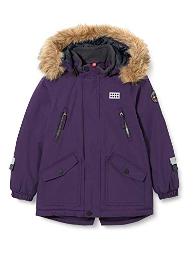 Lego Wear Mädchen LWJODIE - Lego Tec Exclusive Jacke, 693 Dark Purple, 110