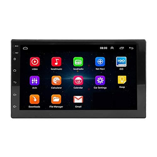 Autoradio MP5.7inch WiFi 2Din autoradio GPS-navigatie multimediaspeler met camera voor Android 8.1, Ondersteunt audioweergave en videoweergave