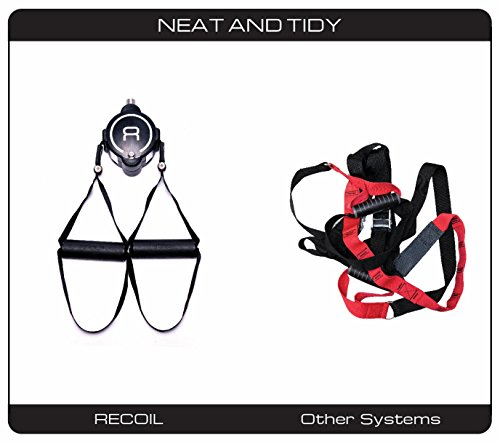 RECOIL S2 Gym - Premium Quality Suspension Trainer - Unmatched Performance - Full Body Workout - All Fitness Levels