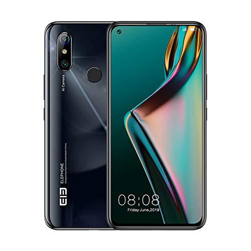 Elephone U3H Smartphone de 8 GB, 256 GB, 6,53 pulgadas FHD + pantalla completa, Face Unlock, Back Fingerprint,versión global