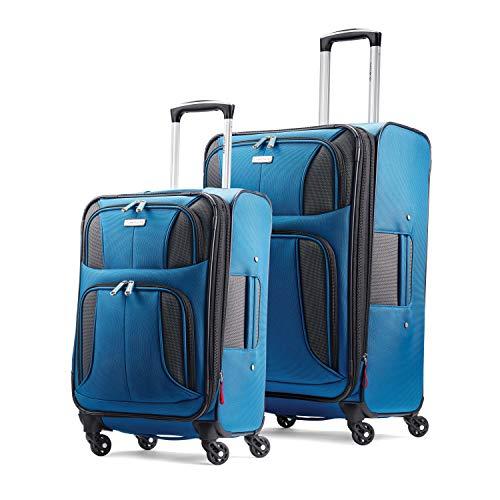 Samsonite Aspire Xlite Expandable Softside Carry On Upright Luggage,  21.5-Inch, Black