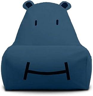 AEURX Acogedor Silla Bean Bag For Adolescentes (Color : Blue)