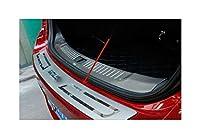 トランクプロテクション ステンレスリアプロテクターシルについてはシボレーマリブ2012 2013 2014 2015カースタイリングバンパー 車のトランク装飾アクセサリー