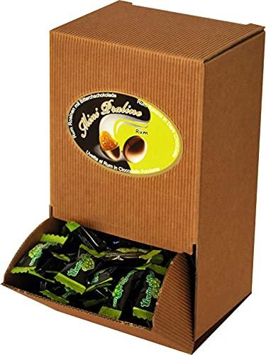 Cioccafè Confetti Ricoperti Di Cioccolato Fondente In Monoporzione - Confetti Incartati Singolarmente Con Uvetta Ricoperta di Cioccolato Al Rum Cioccaffè Bolero, Marsupio 500gr