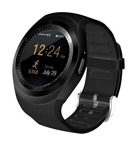 Blaupunkt BLP 5500 Bluetooth Smartwatch mit SIM-Karte, Kalorienzähler, Schrittzähler, iPhone und Android