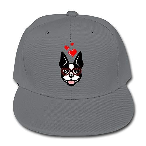 Boston Terrier Baseball Cap Verstellbare Hüte Kind Hip Hop Baseball Trucker Cap für...