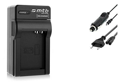 Cargador (Coche/Corriente) para Canon NB-10L / PowerShot G15, G16, G1X, SX40 HS, SX50 HS