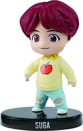 Mattel GKH80 - BTS Mini Vinyl Figur Suga, K-Pop Merch Spielzeug zum Sammeln