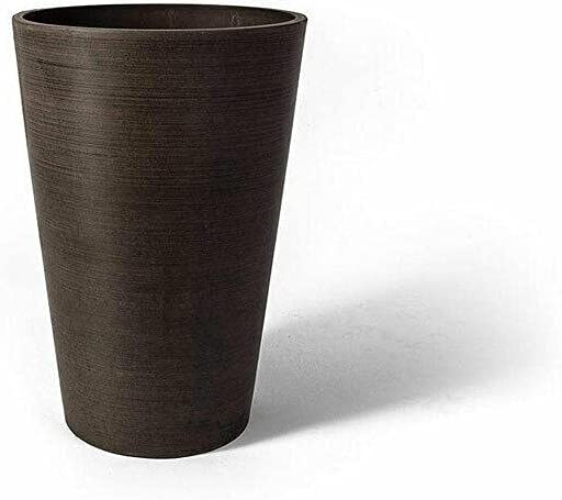 12 2021new shipping free shipping x 18 Inch Round Taper Flower Recycled Cheap mail order sales Chocolate Planter Pot