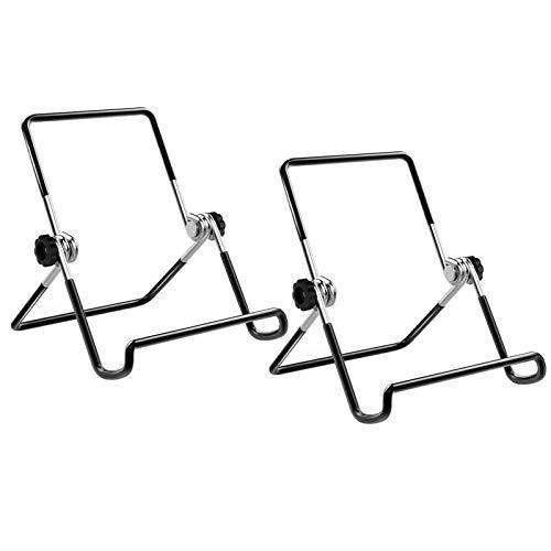 Cettkowns - Soporte plegable para tablet de 9 a 12,9 pulgadas, color negro