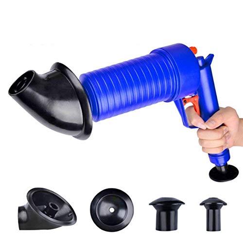 Abflussspritze mit Luftbetrieb, Hochdruck-Pistole, Reinigungspumpe für Bad, Toiletten, Badezimmer, Dusche, Küche, verstopfte Rohre Badewanne