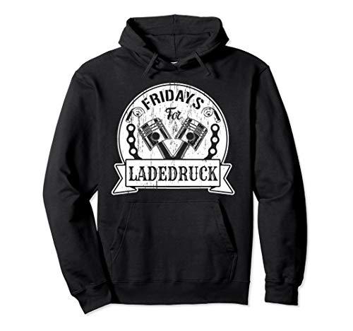 Fridays for Ladedruck für Motorsport Tuning Fans Pullover Hoodie