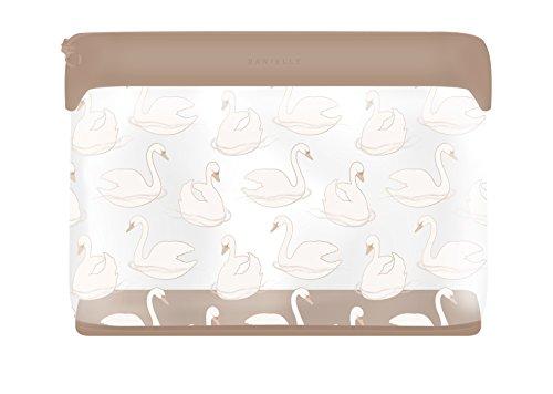 Danielle Creations Swan Imprimé Sac de beauté