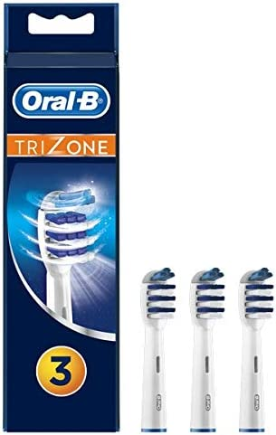 Oral-B Trizone Brossettes de Recharge pour Brosse à Dents Électrique Jusqu'à 100 % d'élimination de la plaque dentair...