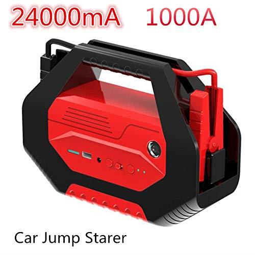 Sthfficial autolader voor powerbank, starthulp, vermogen 400000 mAh, 12 V, 24 V, USB, voor auto-accu US