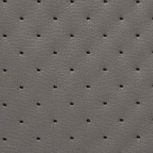 NOVELY® Soltau Kunstleder 3-LAGIG gesteppt kaschiert   Volumen Polsterstoff   Punkte Möbelstoff Premium   GP2-SOL-24 (24 SCHLAMMGRAU)