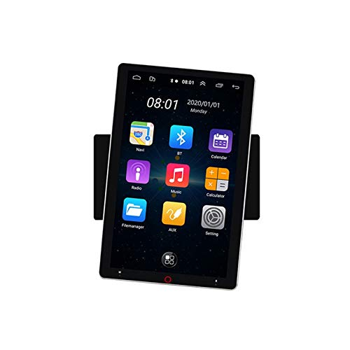 ACAMPTAR Universal Android 8.1 Reproductor Mp5 para Coche Reproductor Multimedia de Pantalla HD de 11 Pulgadas con GPS WiFi Mirror-Link Sin Cámara Trasera