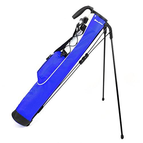 Knight Pitch and Putt - Bolsa de Transporte Ligera para Golf, Color Azul, tamaño Normal