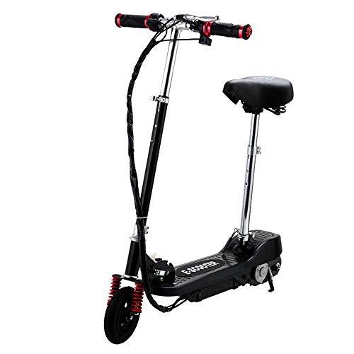 Ajac Elektrische step voor volwassenen, 6 inch, opvouwbaar, licht, met pneumatische wielen, oplaadbare accu kick-scooter voor volwassenen en adolescenten