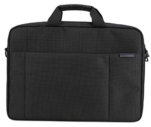Acer Notebook Tasche / Protective Sleeve (geeignet für bis zu 14 Zoll (35,6 cm) Notebooks und Chromebooks, universelle Schutzhülle, mit Schultergurt und Fronttasche) schwarz