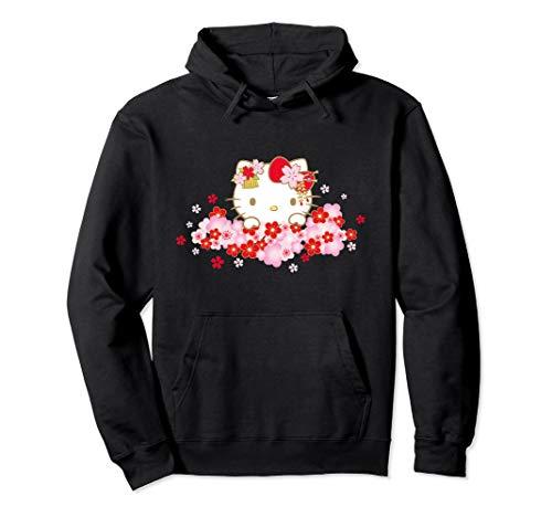 Hello Kitty Kirschblüte Frühling Sakura Pullover Hoodie