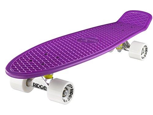Ridge Retro 27 Skateboard, Unisex, Púrpura, 69 cm