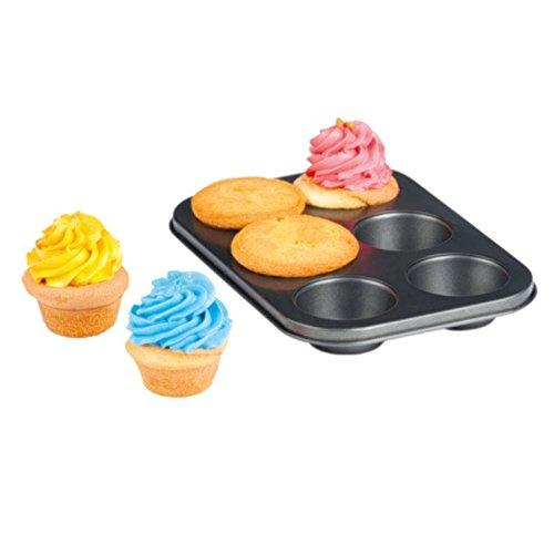 Megaprom 6er Muffin Backform Backblech Muffinbackform Muffinbackblech Muffinform Kuchenform
