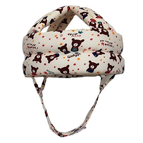 Baby Helm Kopfschutz Sicherheitshelm für Kleinkinder, Verdickung Verstellbarer Schutzkappe für Baby Kleinkind Lernen Laufen und Sitzen