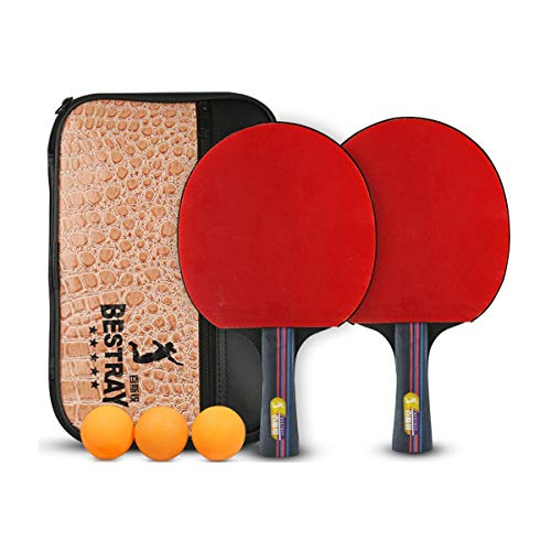 Review XIONGHAIZI Table Tennis Racket, Four-Star Table Tennis Racket, Double Shot, Pen-Hold, Horizon...